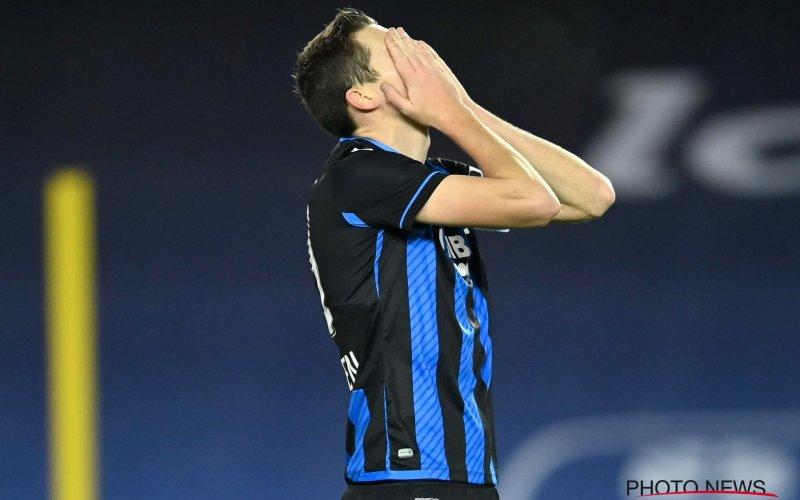 Club Brugge en Hans Vanaken vernemen erg pijnlijk nieuws