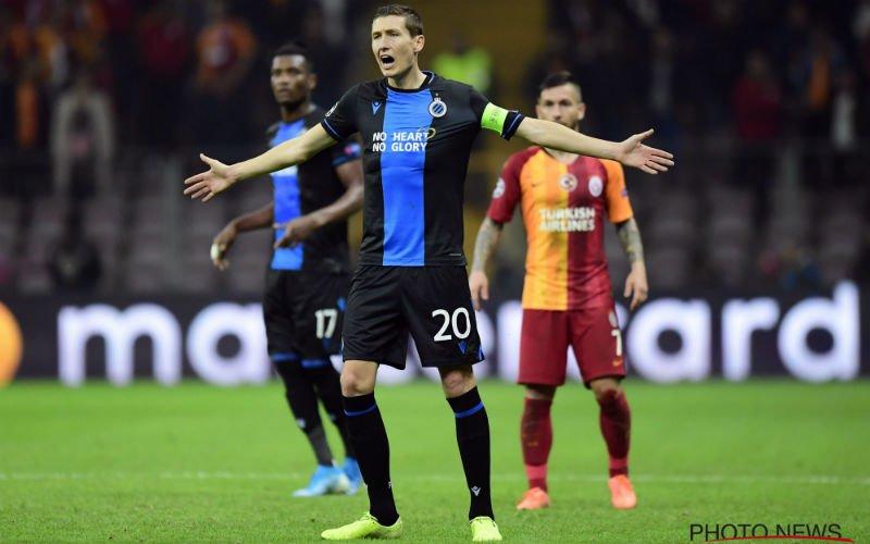 Hans Vanaken krijgt hevige kritiek na Galatasaray-Club Brugge