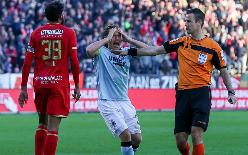Faris Haroun trapt na richting Ruud Vormer: