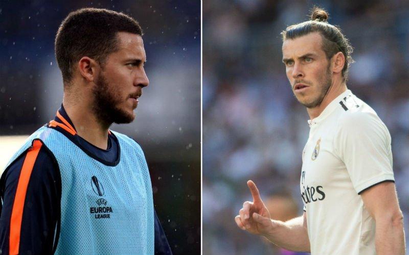 'Gareth Bale is woest en maakt Eden Hazard het leven extreem zuur'