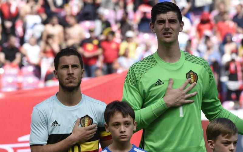 Courtois laat zich uit over transfer van Hazard naar Real Madrid