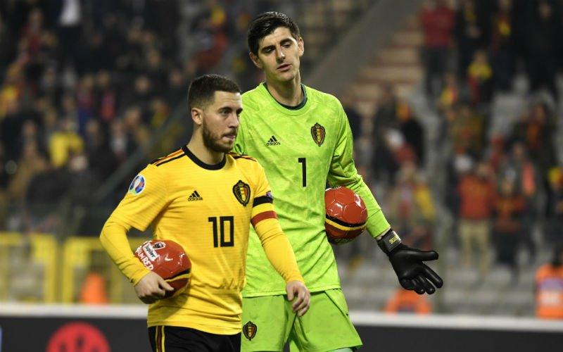 Hazard onthult opmerkelijke rol van Courtois in transfer naar Real Madrid