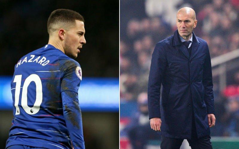'Zo denkt Eden Hazard écht over terugkeer Zidane bij Real'