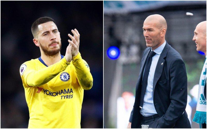 'Zinédine Zidane neemt onmiddellijk opmerkelijke beslissing over Eden Hazard'