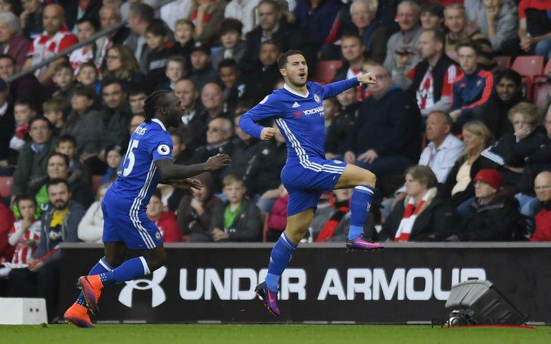 Eden Hazard krijgt uitstekend nieuws