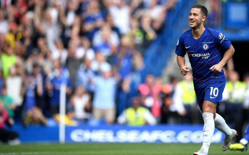 Sarri kan ogen niet geloven van Eden Hazard:
