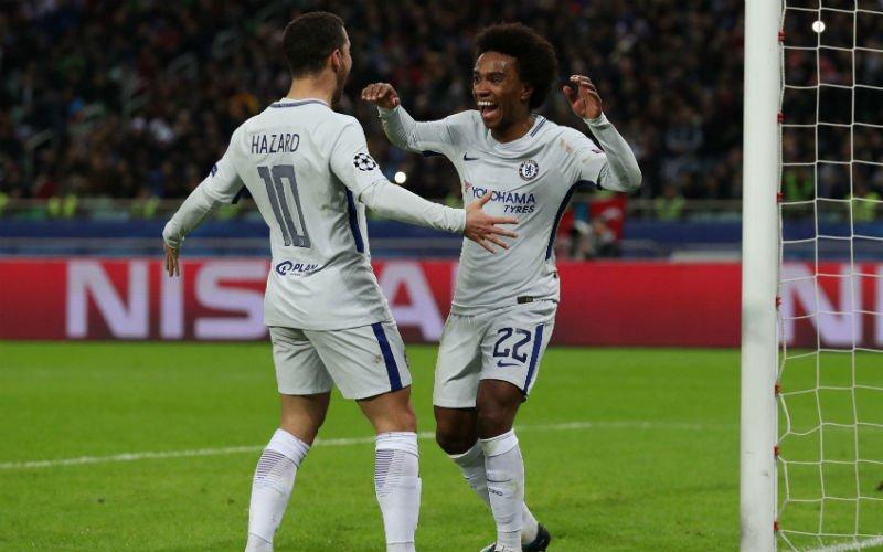 Hazard breekt record én loodst Chelsea naar de volgende ronde