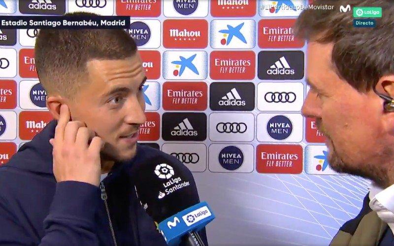 Eden Hazard steelt de show met TV-interview in vloeiend Spaans (VIDEO)