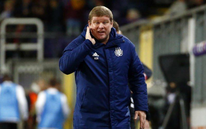 Zeer slecht nieuws voor Vanhaezebrouck bij Anderlecht