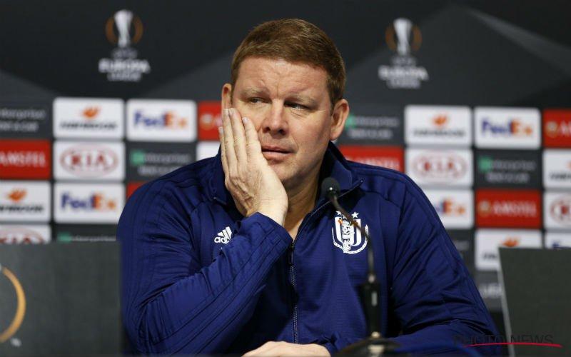 Hein Vanhaezebrouck voorspelt grote problemen voor Club Brugge