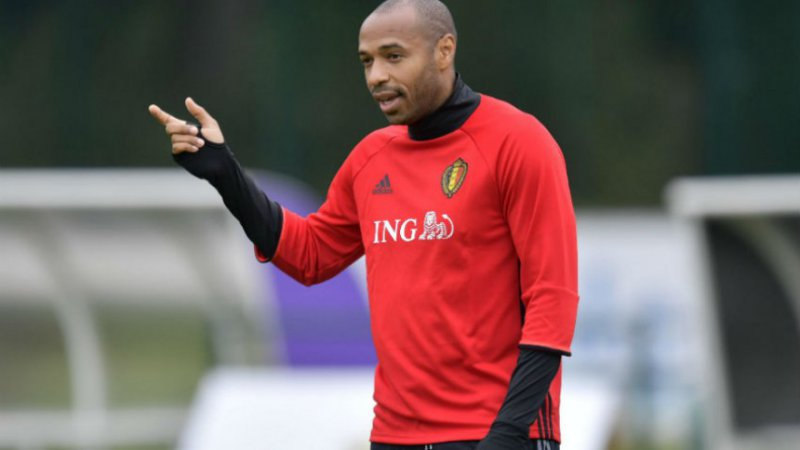 Thierry Henry is in shock: