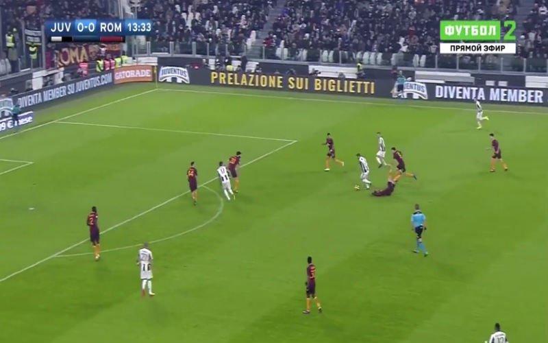 Weergaloze Higuain dolt met De Rossi en maakt Roma-verdediging compleet belachelijk (Video)
