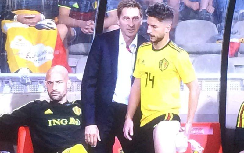 Domper op de feestvreugde: Missen Hazard en Mertens start van het WK?