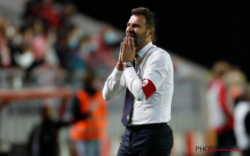 Antwerp FC grijpt in bij trainer Ivan Leko