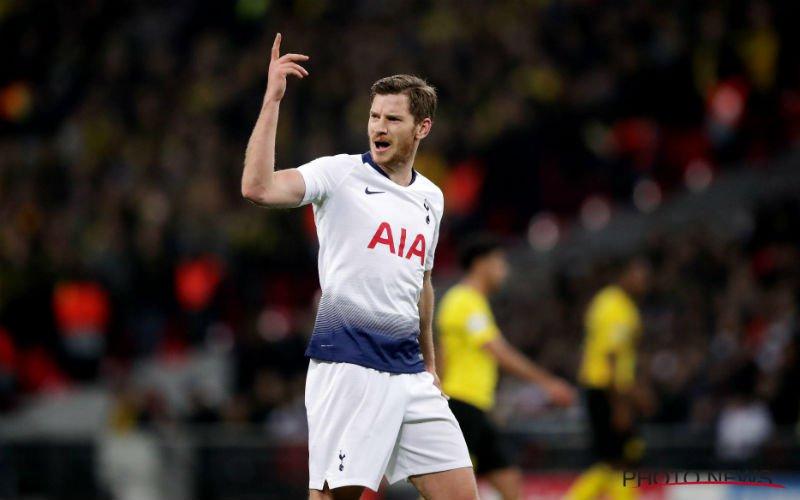 Jan Vertonghen plots weg bij Tottenham?