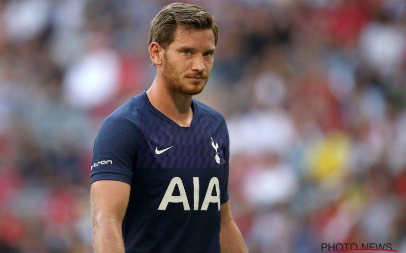 'Jan Vertonghen vertrekt mogelijk per direct bij Tottenham'