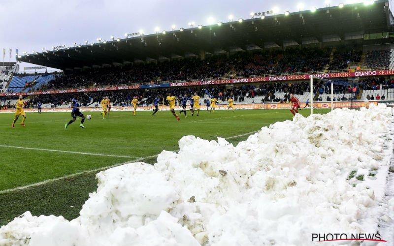 Club Brugge - Charleroi gaat niet door om deze pijnlijke reden