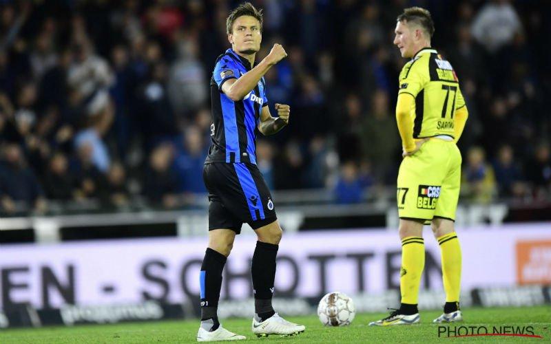 Vossen na late zege Club Brugge: