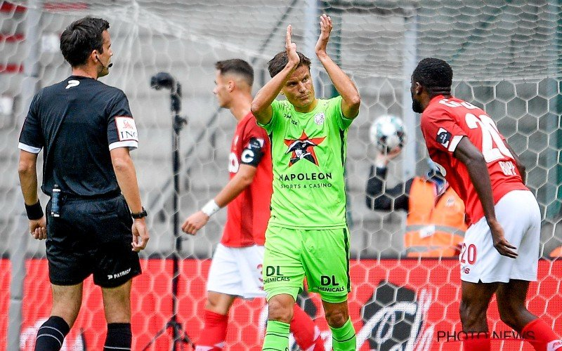 Standard lijdt verrassend puntenverlies tegen Zulte Waregem