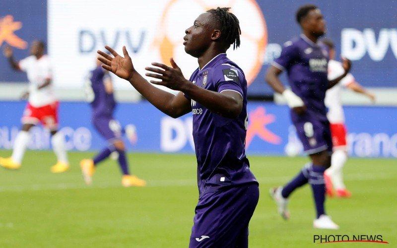 'Anderlecht heeft geen keuze, Doku dreigt te vertrekken'