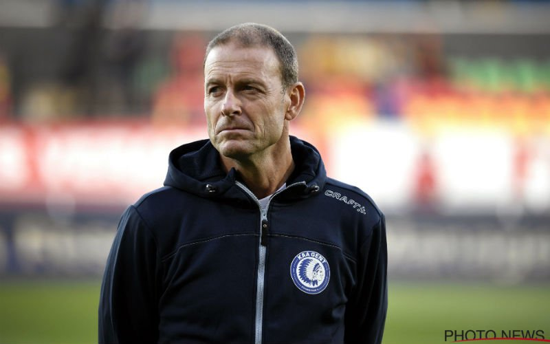Thorup krijgt meteen dramatisch nieuws te horen bij AA Gent