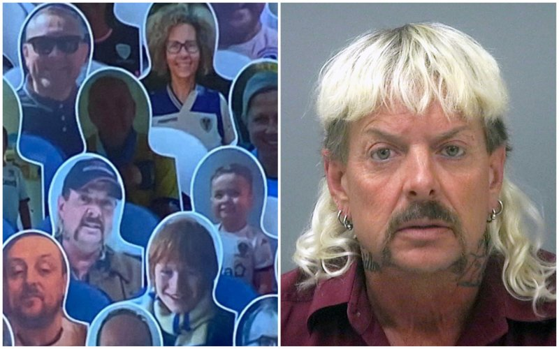 'Tiger King' Joe Exotic duikt plots op bij Engelse topper