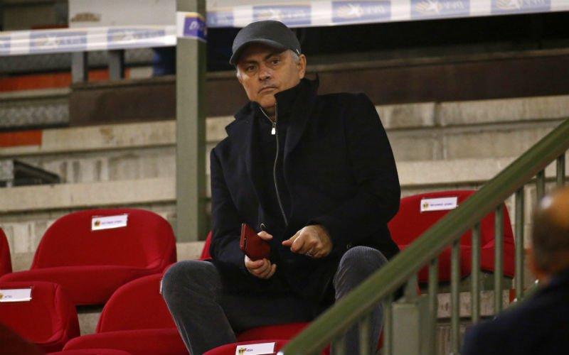 'Dit is de échte reden waarom José Mourinho België-IJsland bijwoonde'