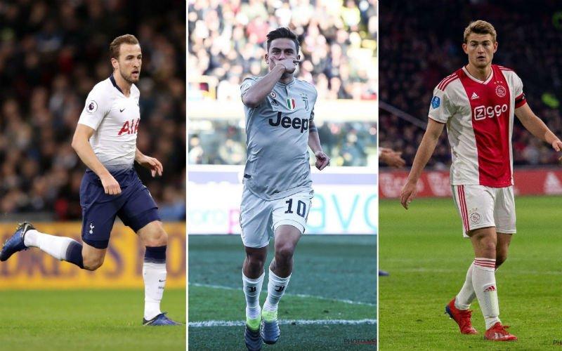 'Kane, Dybala en de Ligt verhuizen samen voor 450 miljoen naar deze club'