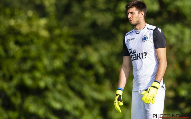Nieuwe doelman Club Brugge Karlo Letica: