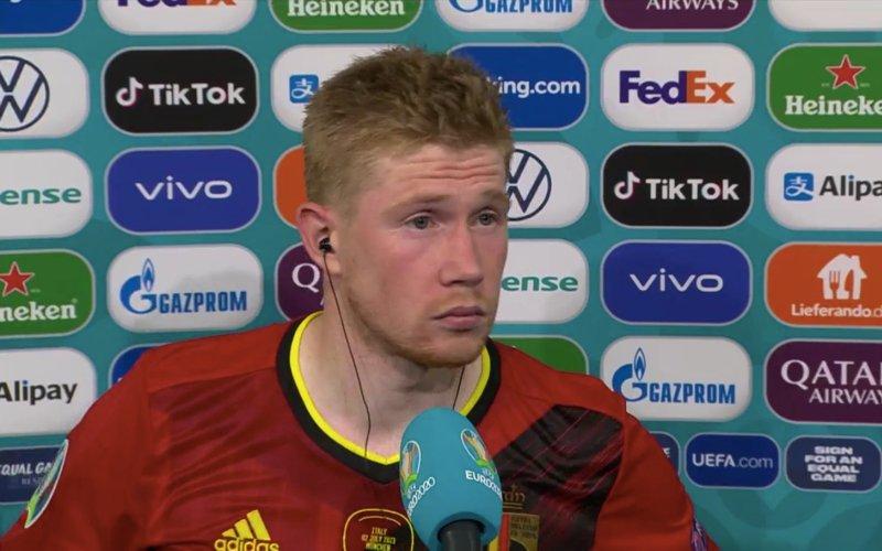 Kevin De Bruyne doet straffe onthulling na EK-exit Rode Duivels