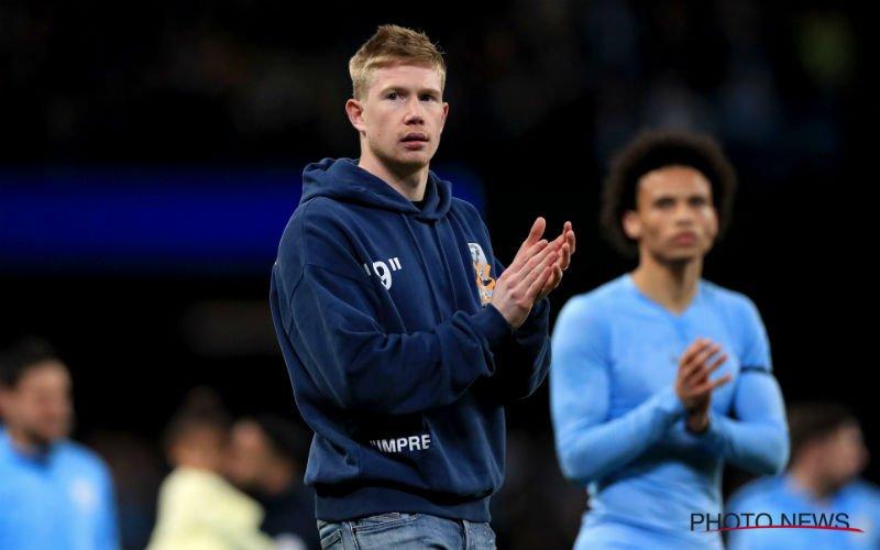 'Kevin De Bruyne grijpt in en verlaat Manchester City'