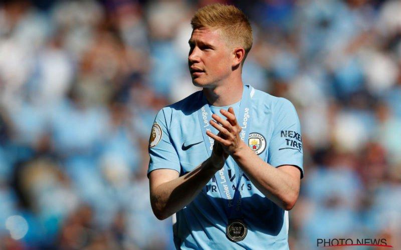 Manchester City komt met geweldig nieuws over De Bruyne