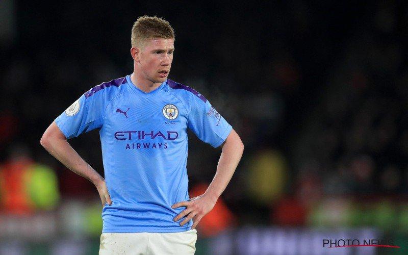 'Grote paniek bij Manchester City, Kevin De Bruyne kan gratis weg'
