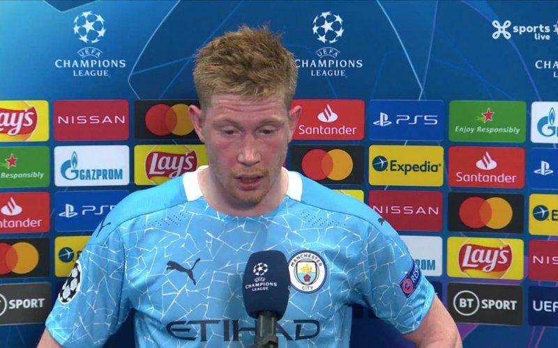 Kevin De Bruyne verbaast iederéén na Champions League ...