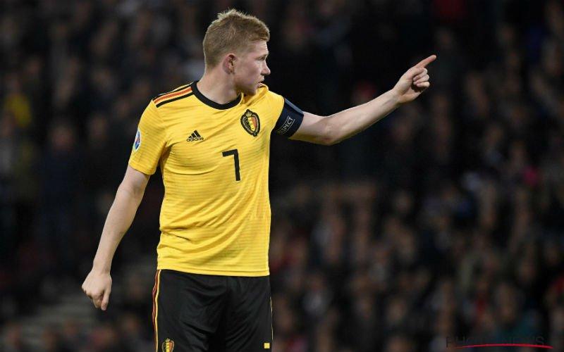 'Martinez grijpt in en verstuurt duidelijk signaal naar De Bruyne'