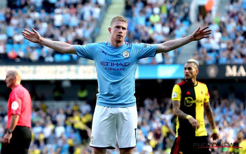 'Man City plakt gigantische transfersom op hoofd van De Bruyne'