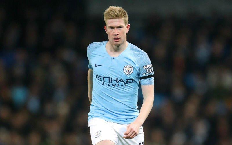 Kevin De Bruyne weg bij Manchester City?