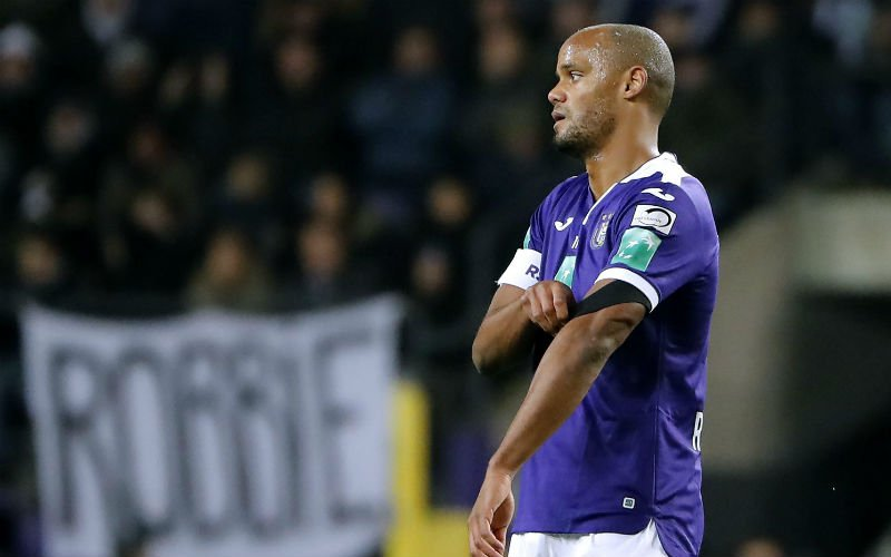 'Anderlecht schuift Vincent Kompany mogelijk aan de kant'