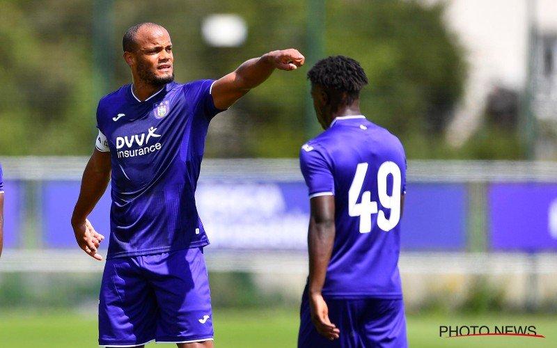 'Anderlecht krijgt erg goed nieuws te horen over de terugkeer van Kompany'
