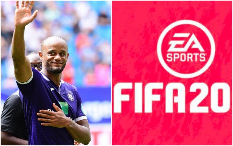 Kompany beste speler in Jupiler Pro League op FIFA 20: dit is zijn rating