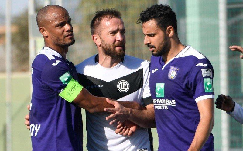 'Vincent Kompany woest na nieuws over Nacer Chadli en Club Brugge'