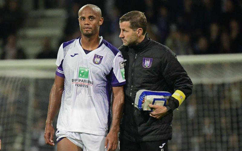 'Anderlecht heeft geen goed nieuws te melden over Kompany'