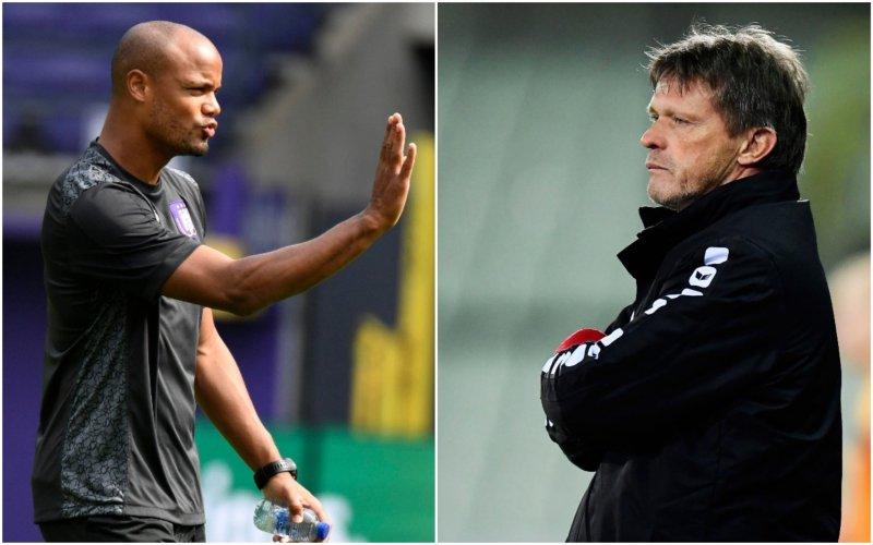 Vercauteren en Kompany nemen meteen opvallende beslissing bij Anderlecht