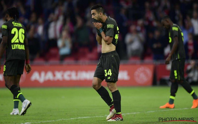 Standard-spelers schamen zich na dramatische prestatie op Ajax