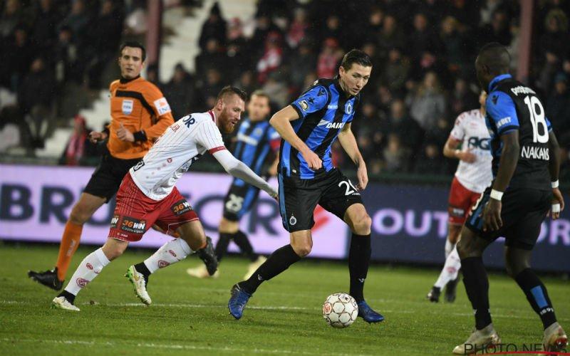 Slordig Club Brugge verspeelt (door VAR) ook punten tegen Kortrijk