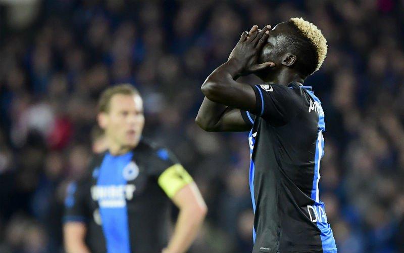 'Krépin Diatta gooit eigen ruiten in, Club Brugge niet te spreken'