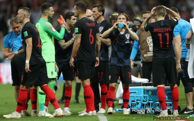 Dit zijn de opstellingen voor de WK-finale