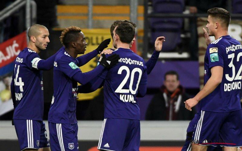 Anderlecht-speler deelt prik uit aan Club Brugge: