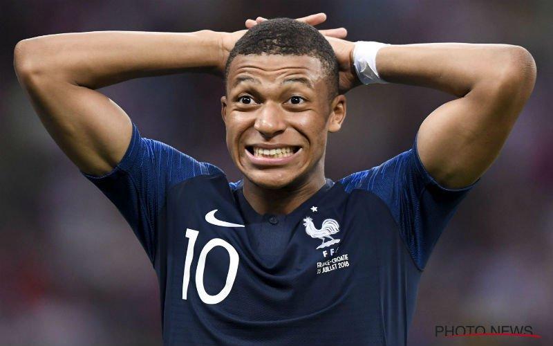 Goed bewaard geheim over Mbappé in match tegen België lekt nu toch uit