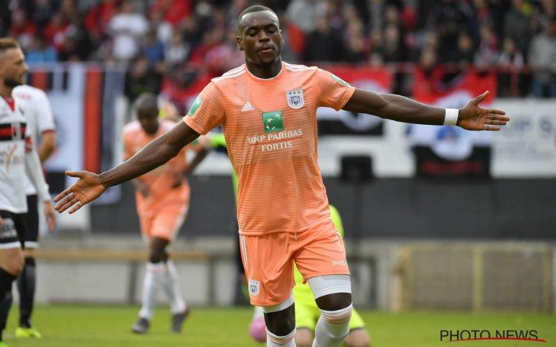 Landry Dimata sukkelt al meteen met een blessure bij Anderlecht